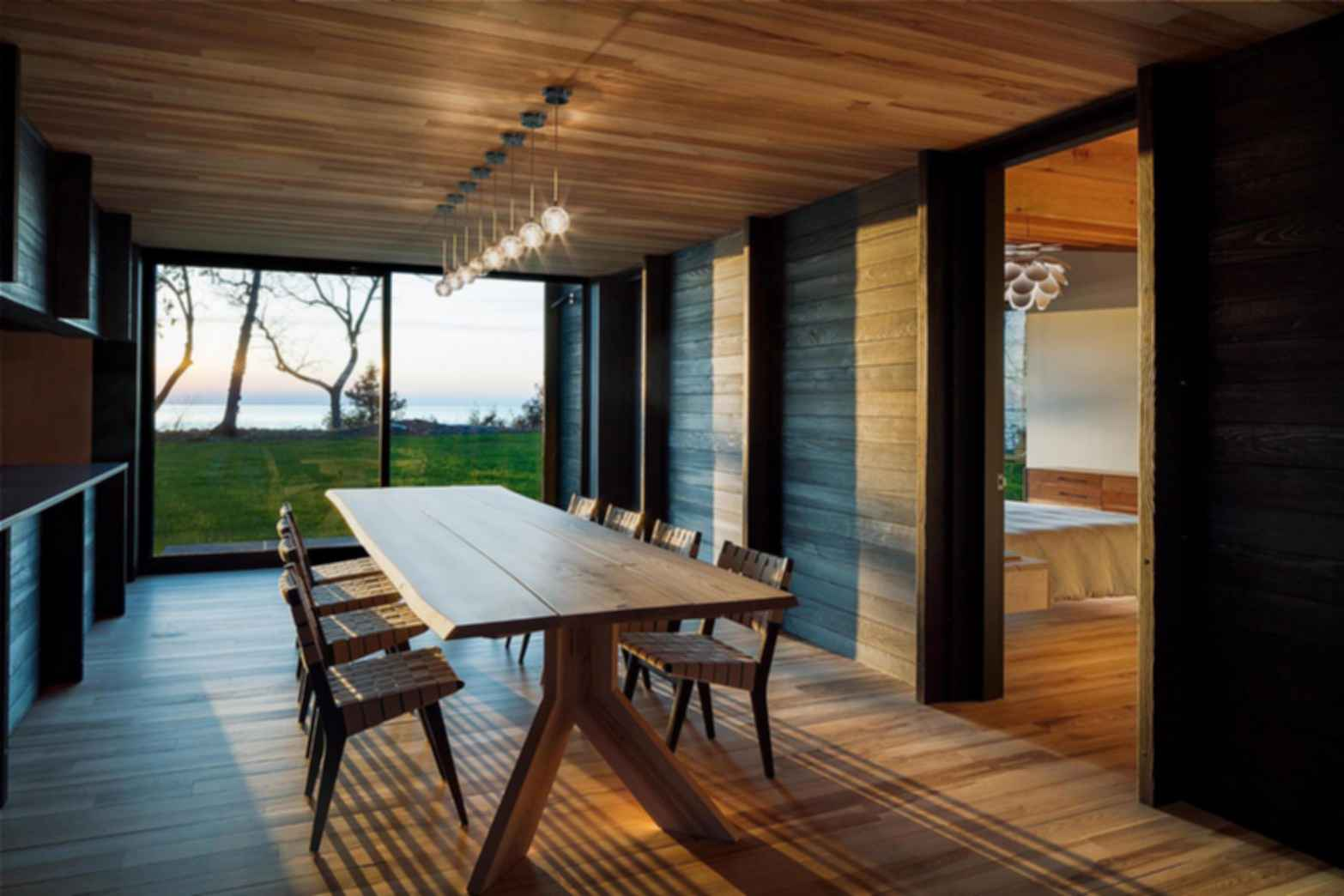 Michigan Lake House - Interior