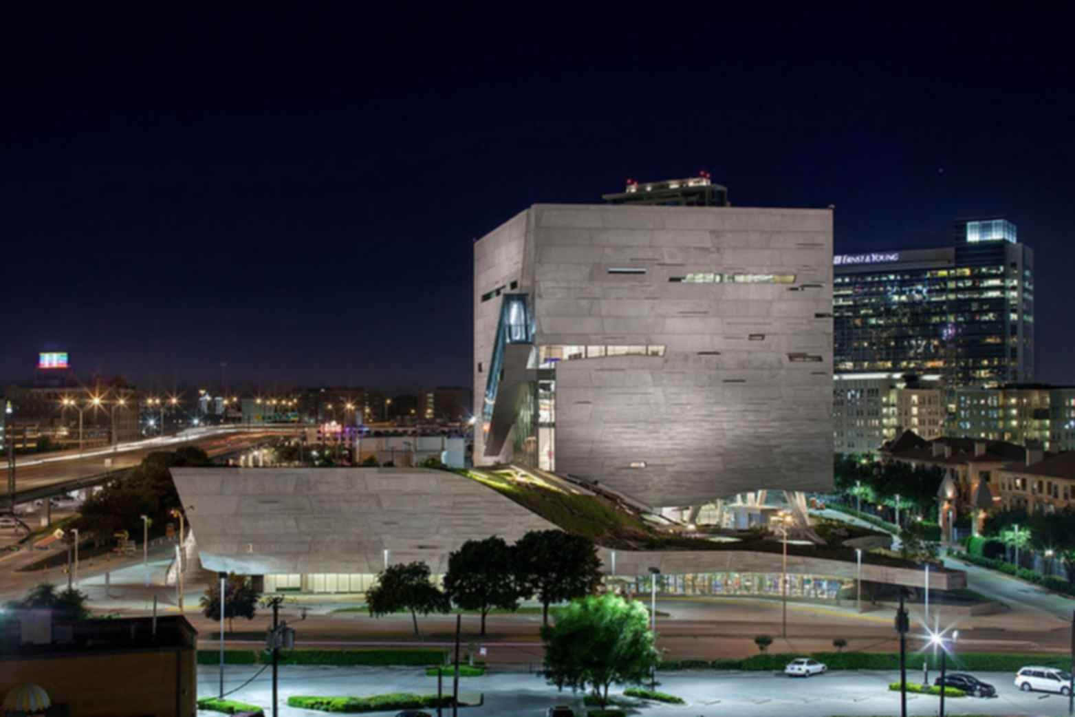 Perot Museum of Nature and Science - Exterior