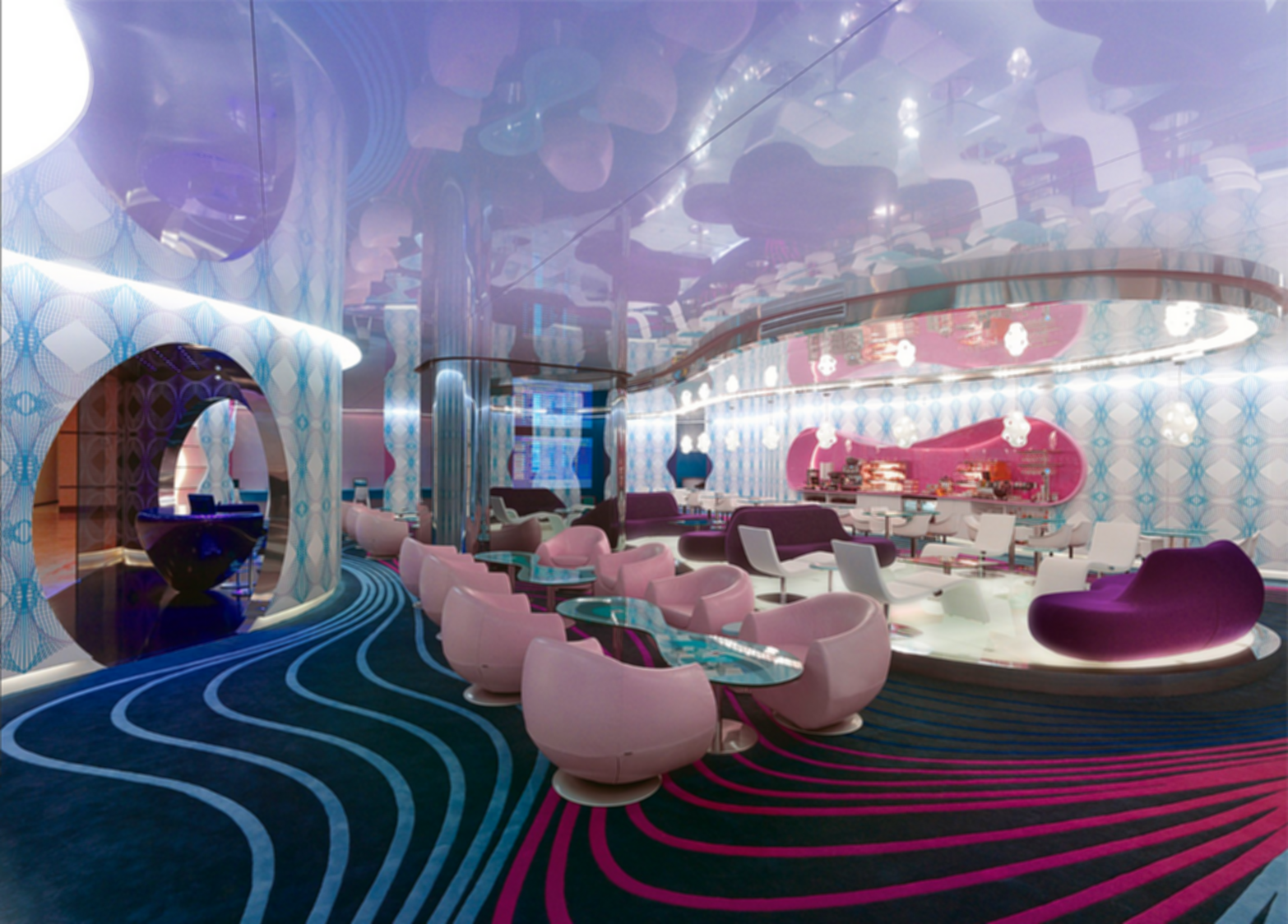 World Lounge - Interior