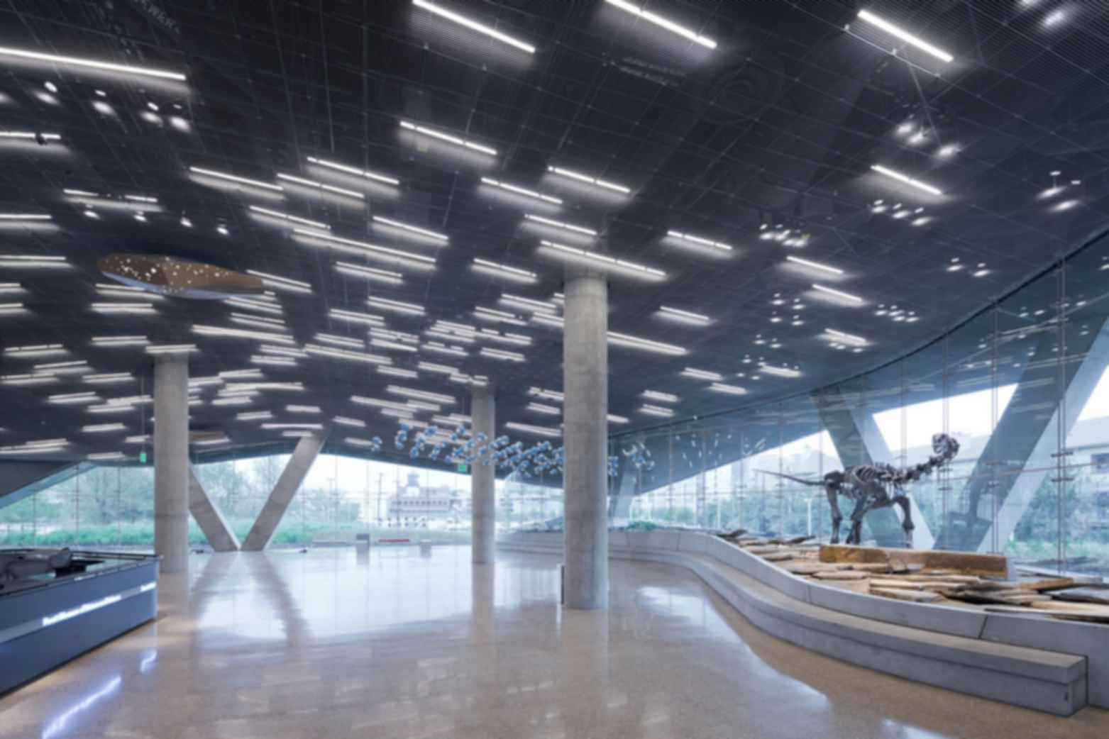 Perot Museum of Nature and Science - Interior