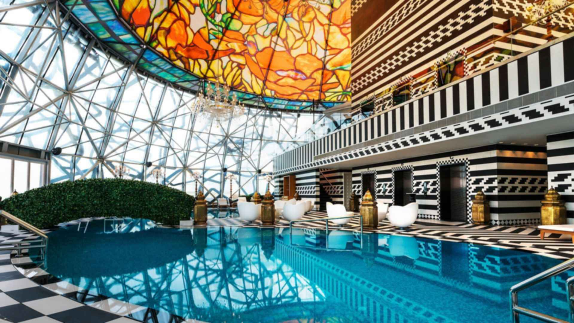 Mondrian Doha - Swimming Pool