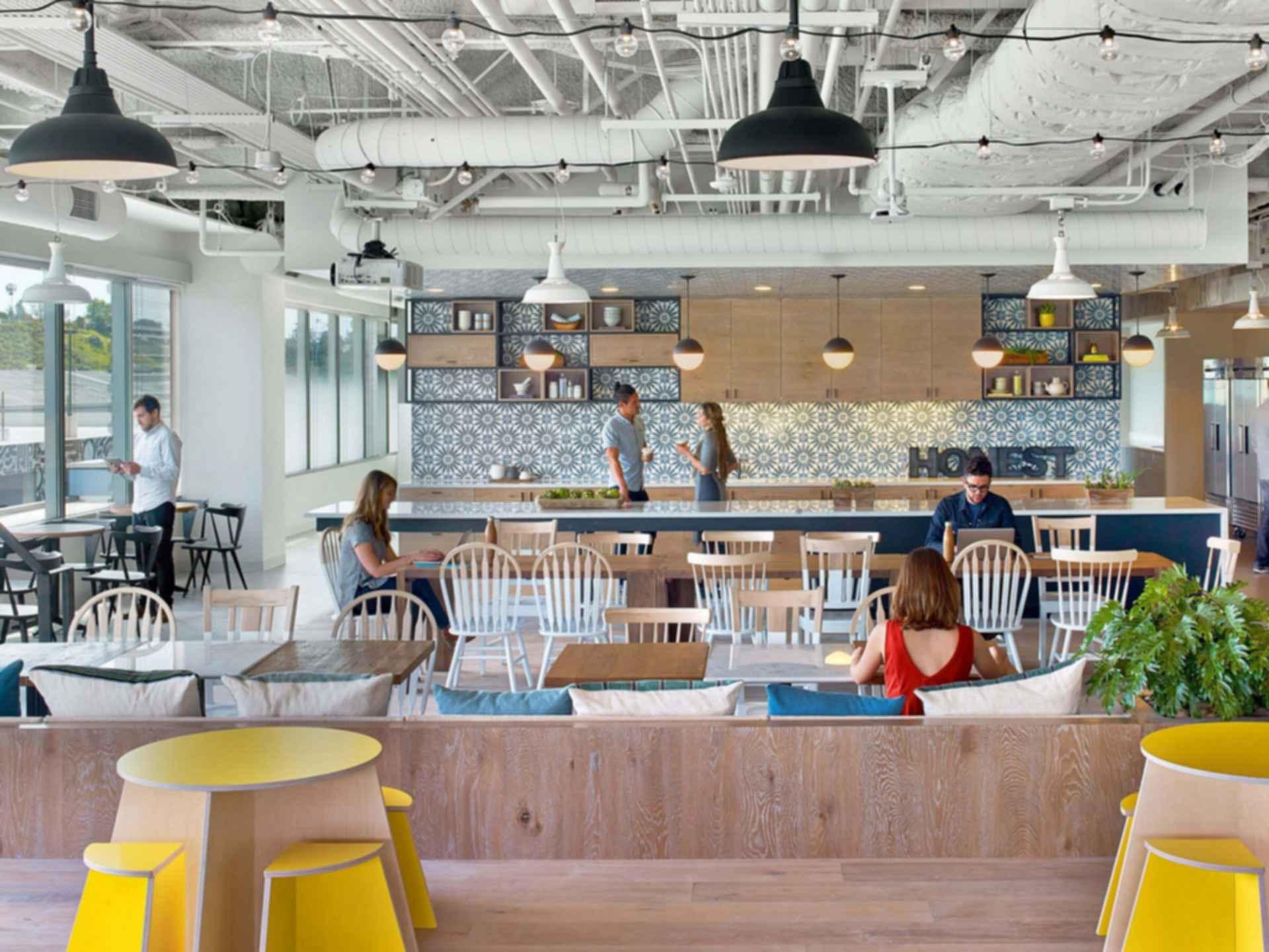 The Honest Company Headquarters - Kitchen