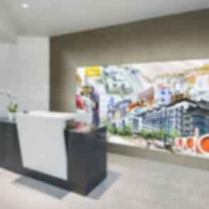 Architecture Design Collaborative Offices - Lobby