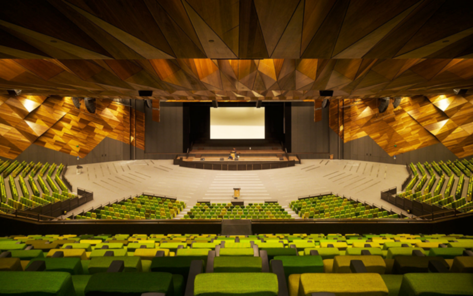 Melbourne Convention and Exhibition Centre - Auditorium