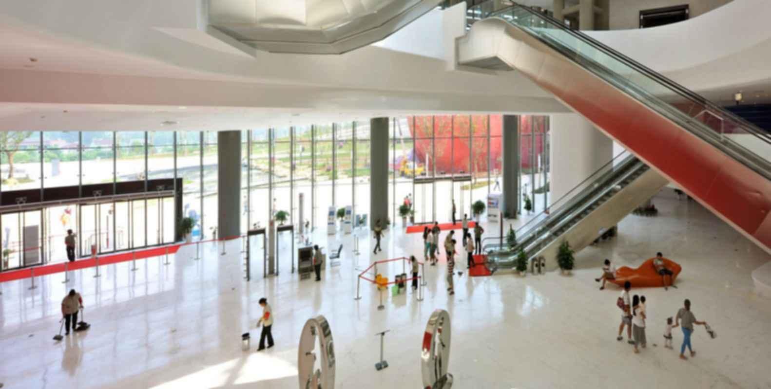 Fangshan Tangshan National Geopark Museum - Interior