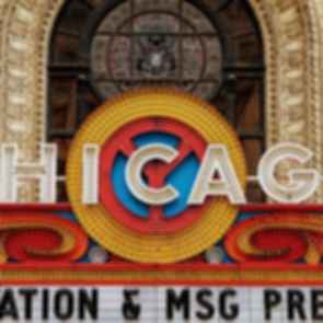The Chicago Theatre - Sign