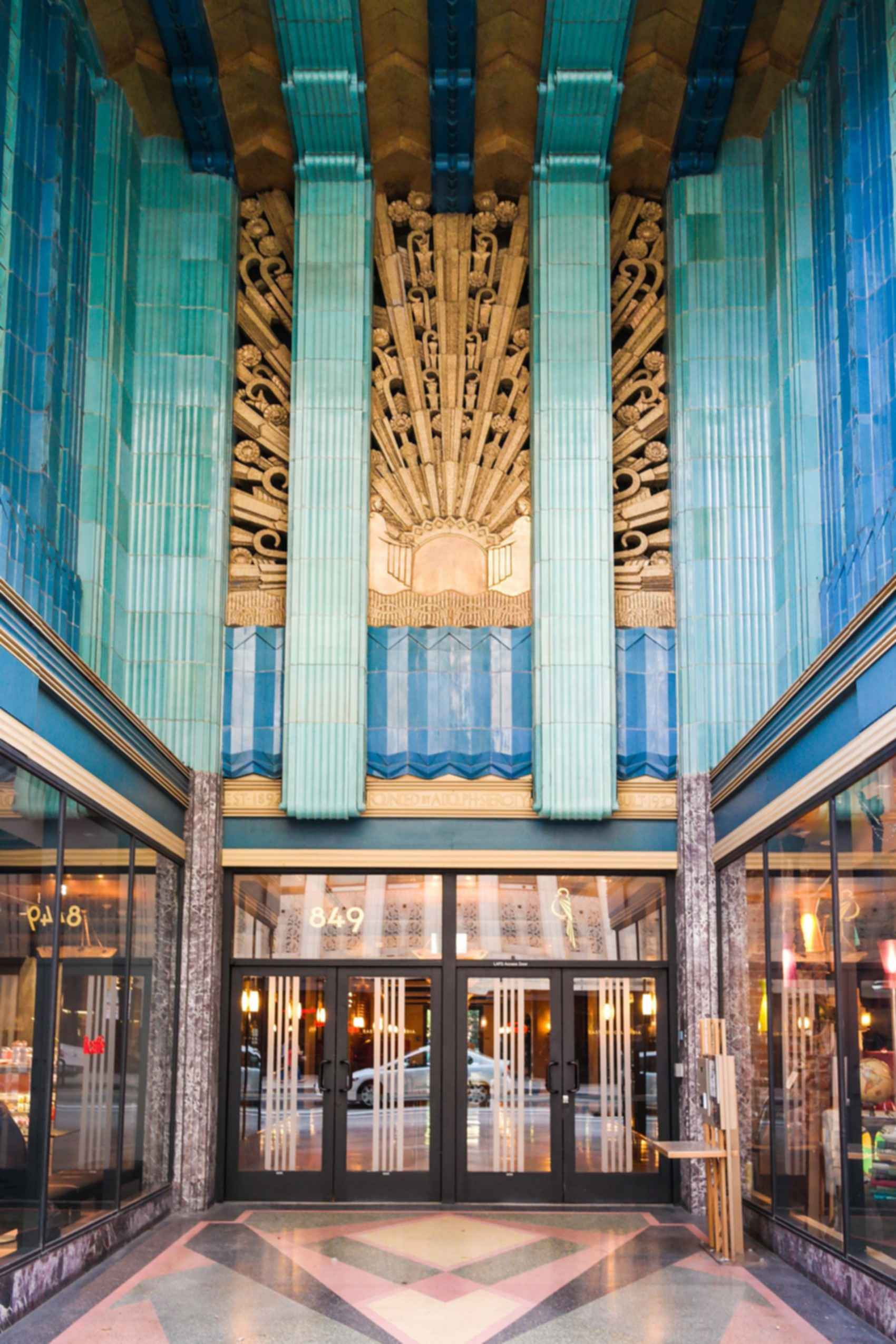 Eastern Columbia Building - Entrance