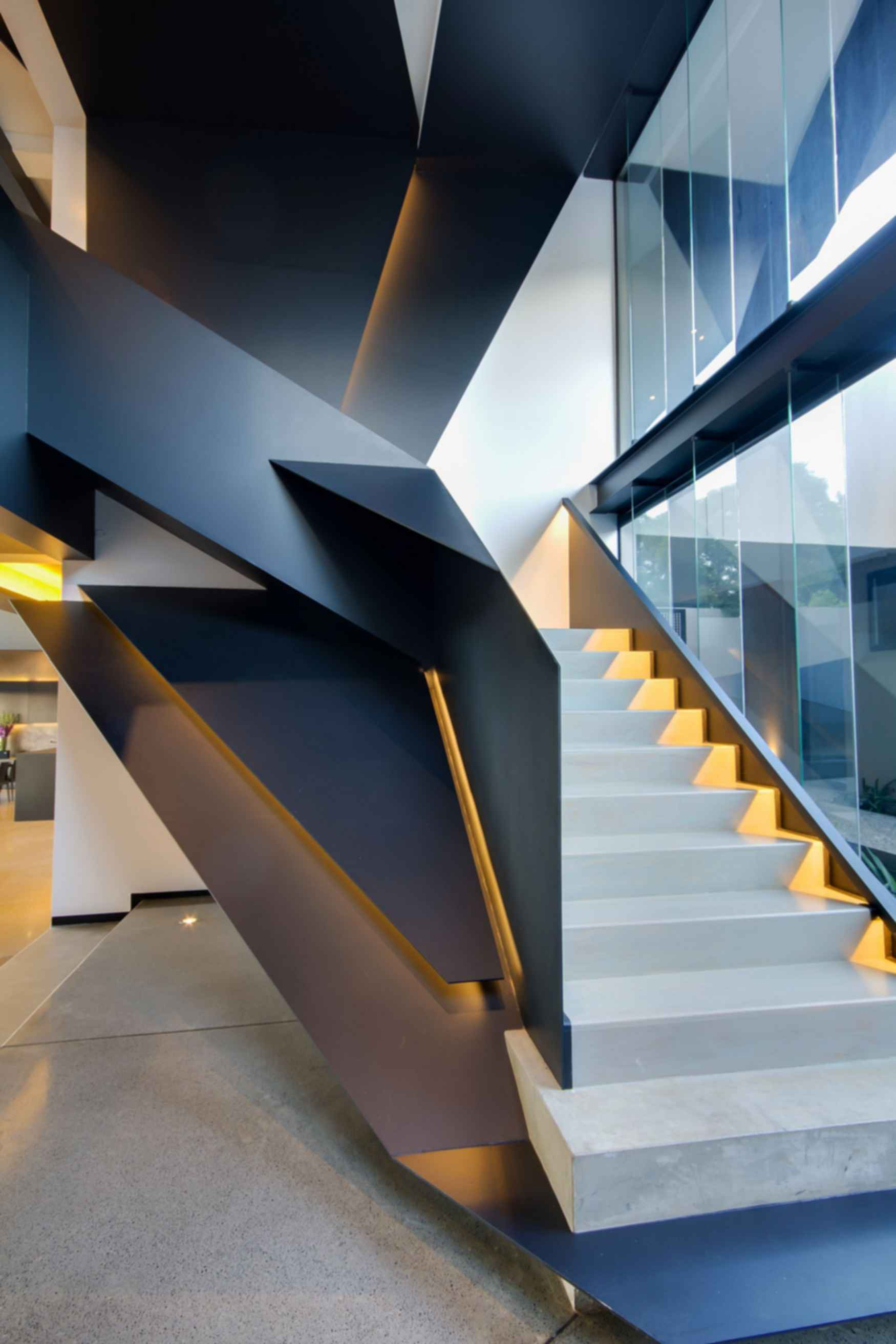 Kloof Road House - Stairs