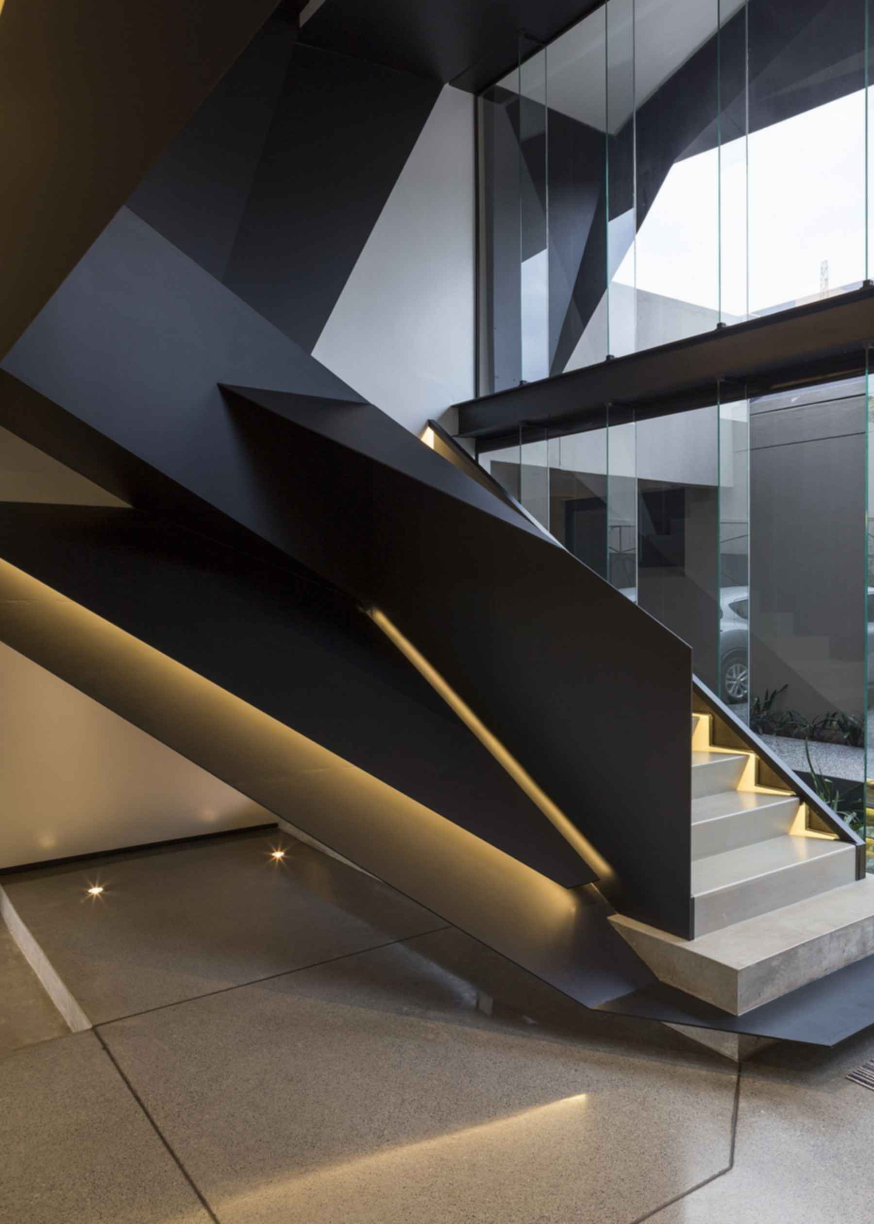 Kloof Road House - Interior Stairs