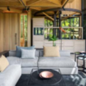 Tree House Constantia - Living Room