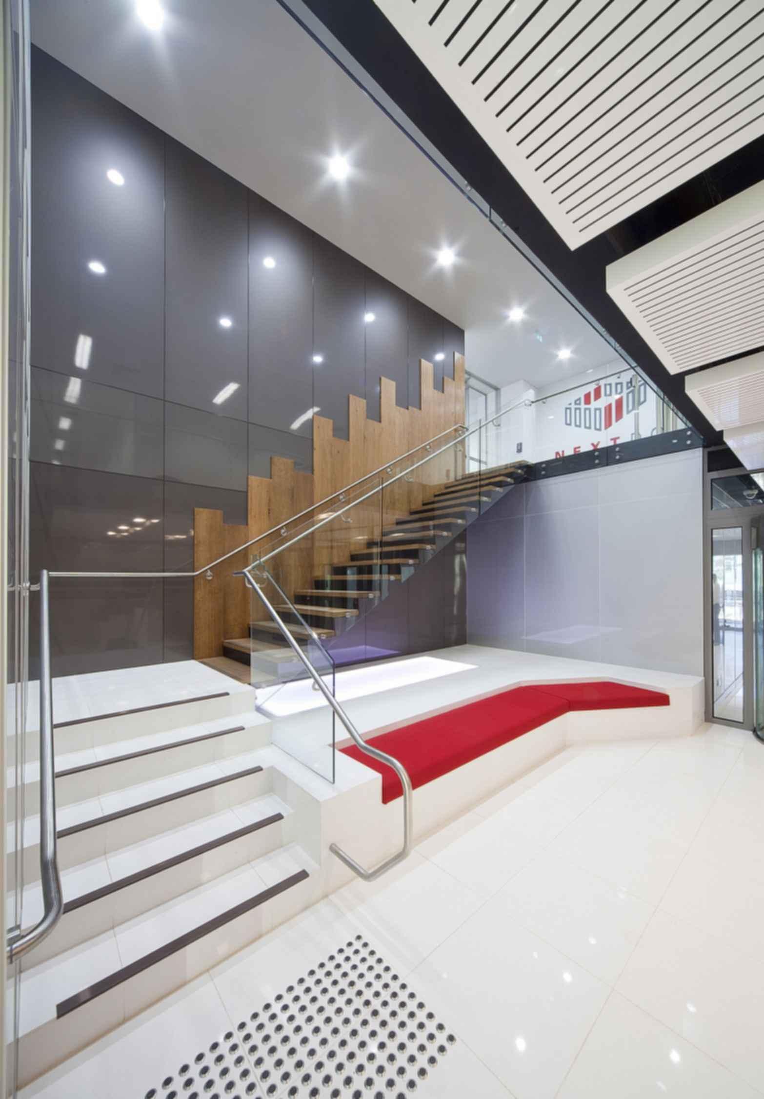 NEXTDC S1 Data Centre - Stairs