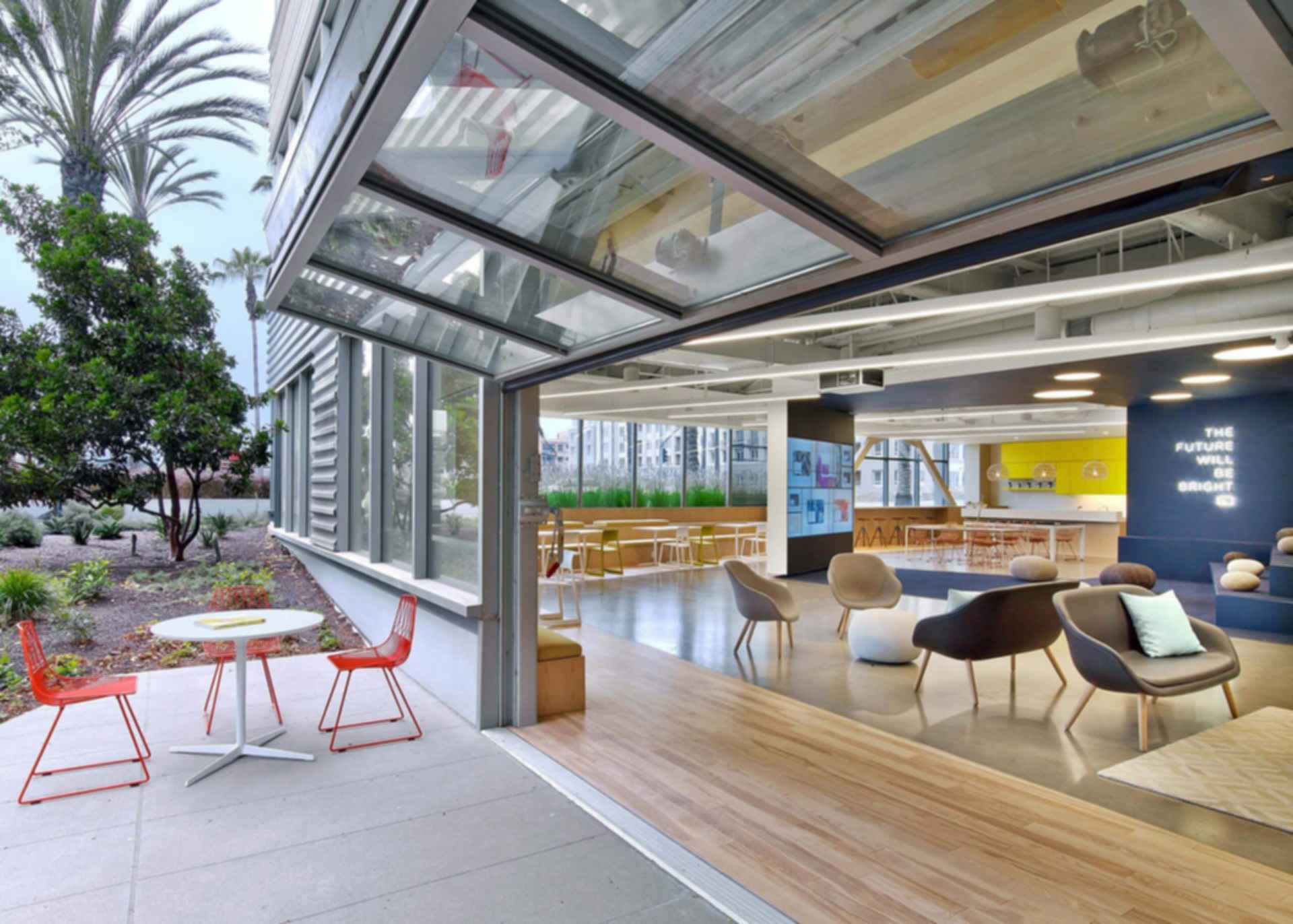 Fullscreen Offices - Outdoor Area