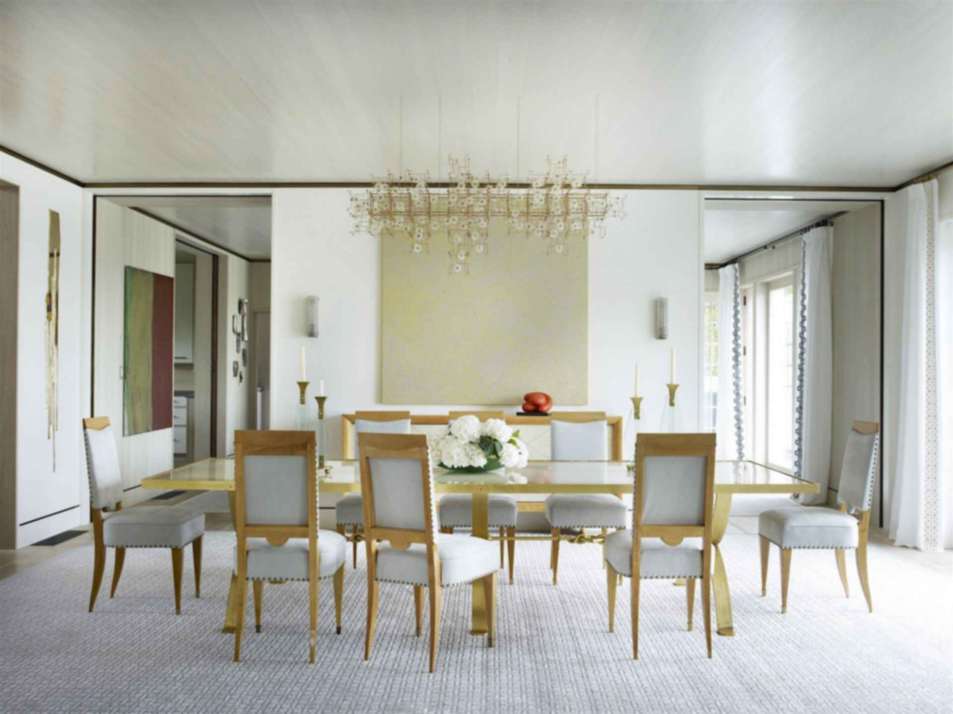 Hamptons Waterfront Residence - Dining Room