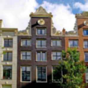 Amsterdam Canal Houses - Detail