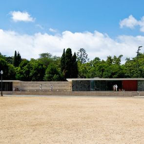 The Barcelona Pavilion - Exterior