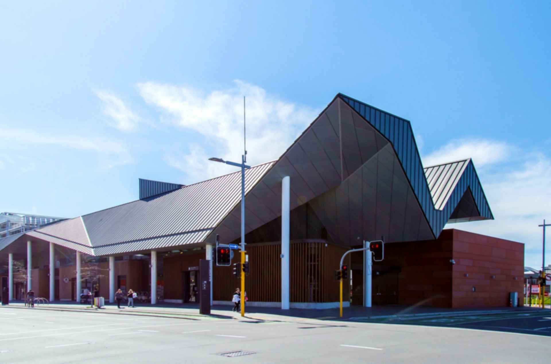 Christchurch bus interchange for Architectus chch