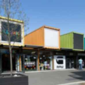 ReSTART Container Mall - Exterior