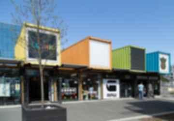 ReSTART Container Mall - Exterior