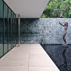 The Barcelona Pavilion - Exterior/Pathway