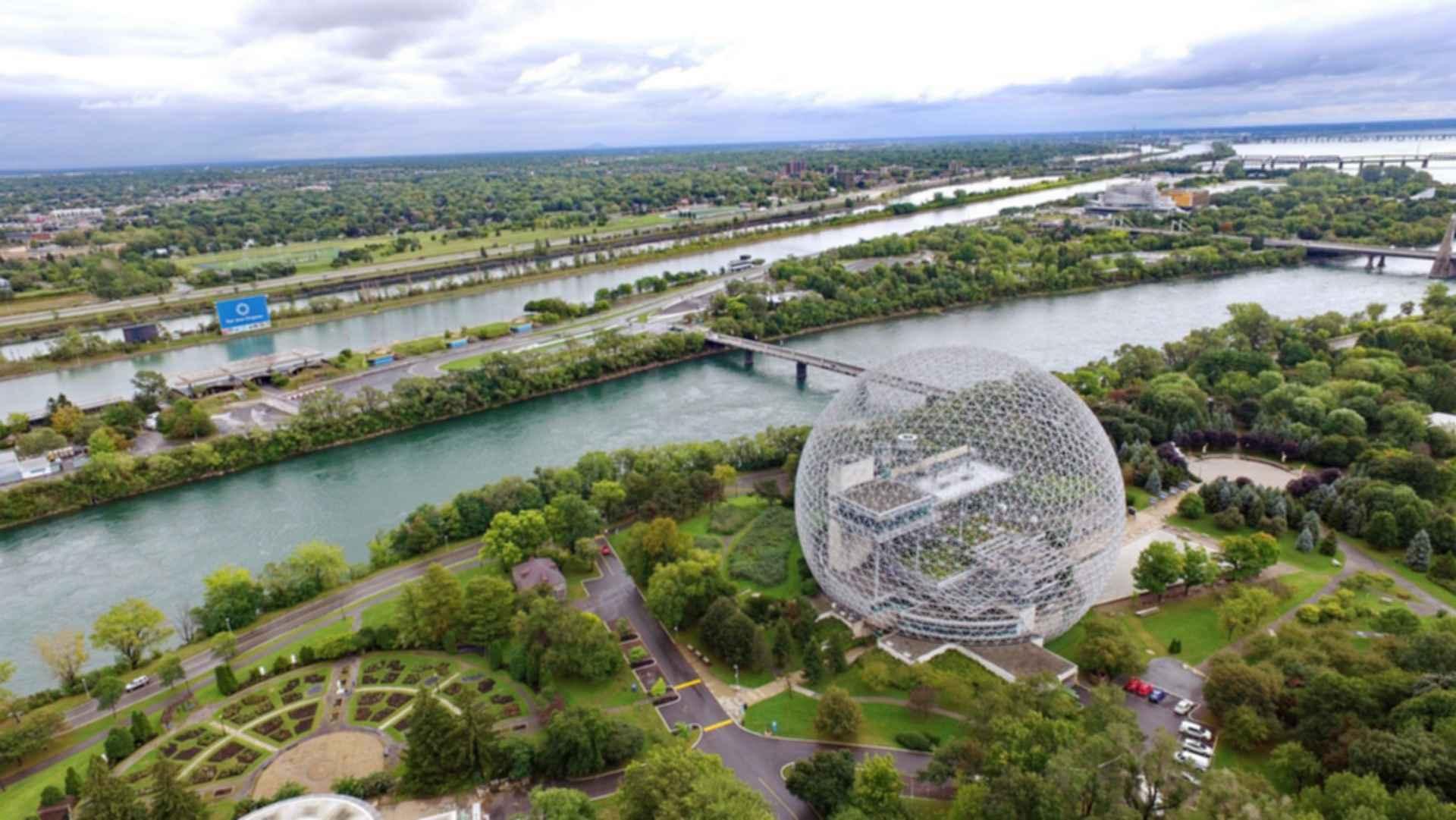 Montreal Biosphère - Bird's Eye View