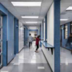 Elysian K-8 School - Hallway