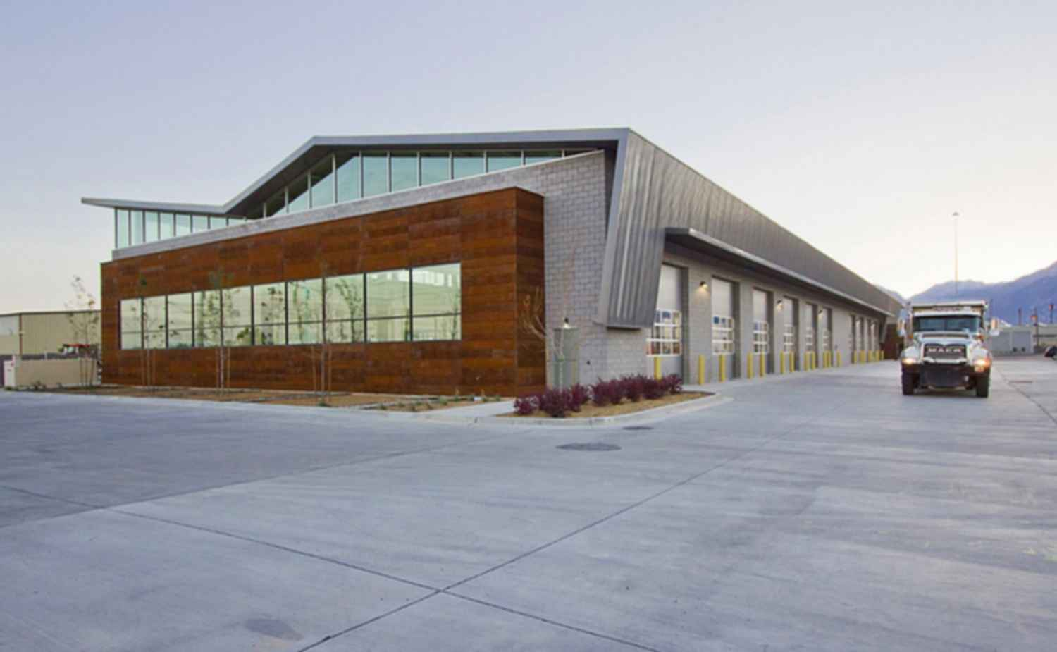 Salt Lake County Fleet Management Building - Exterior