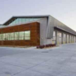 Salt Lake County Fleet Management Building - Exterior