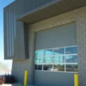 Salt Lake County Fleet Management Building - Door