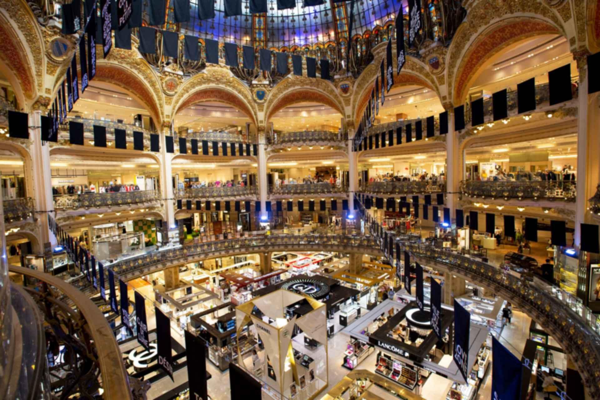 Galeries Lafayette Paris Haussmann - Interior
