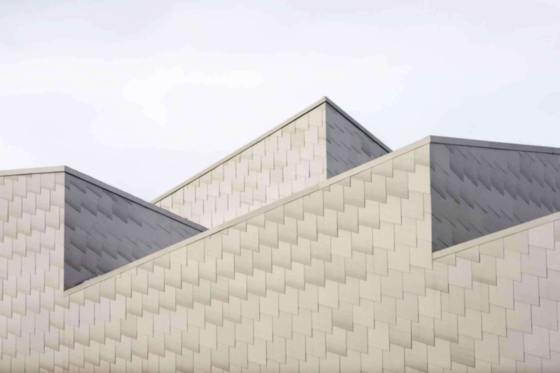 Porsgrunn Maritime Museum - Roof Detail