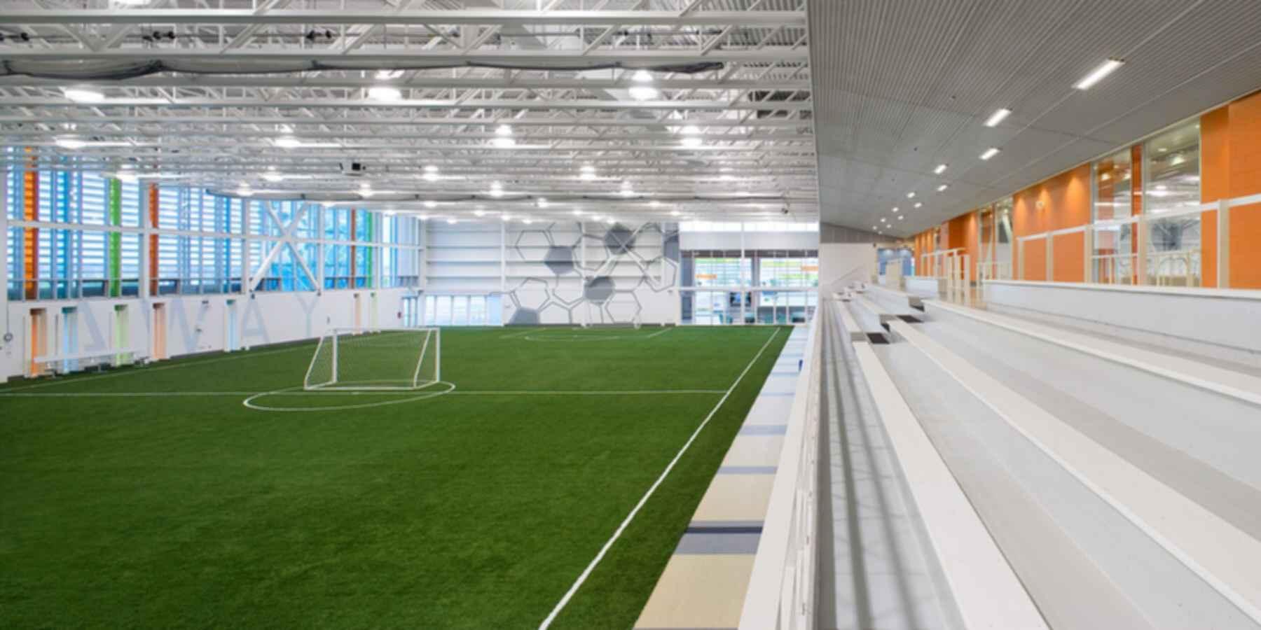 Brampton Soccer Centre - Interior