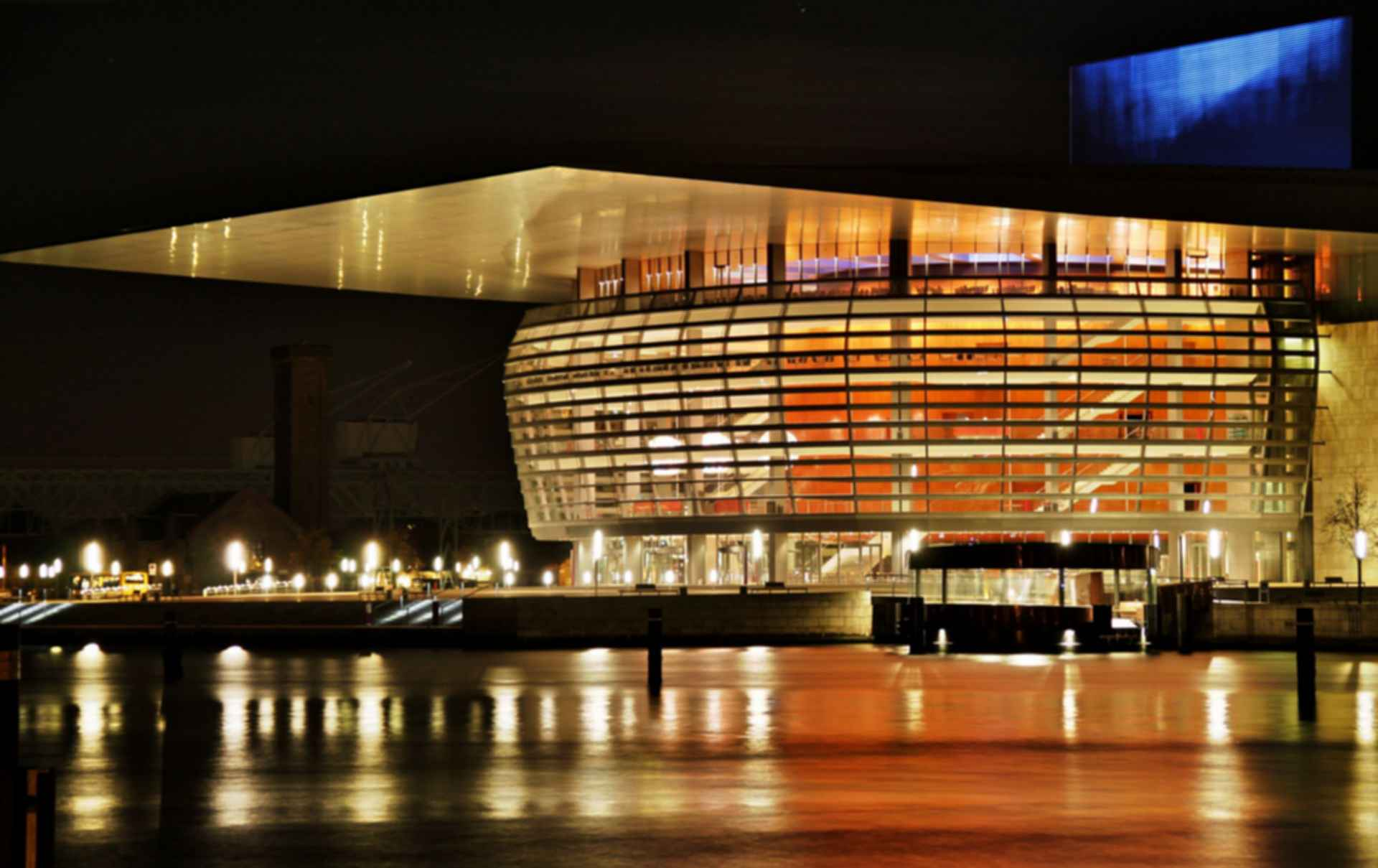 Copenhagen Opera House - Exterior Night