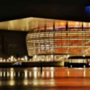 Copenhagen Opera House - Exterior Night
