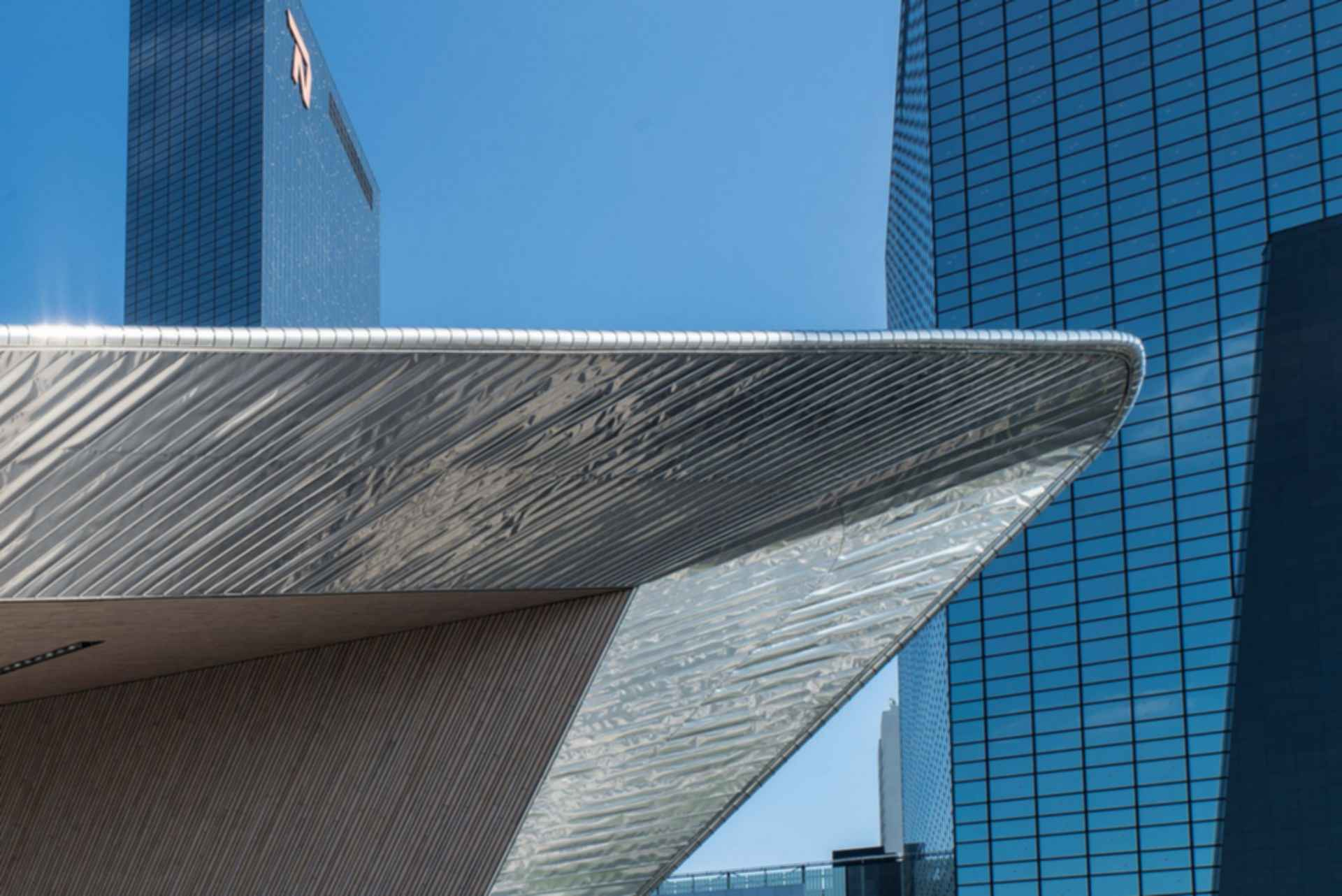 Rotterdam Central Station - Roof Detail