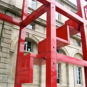 The Follies of Parc de La Villette - Exterior Beams