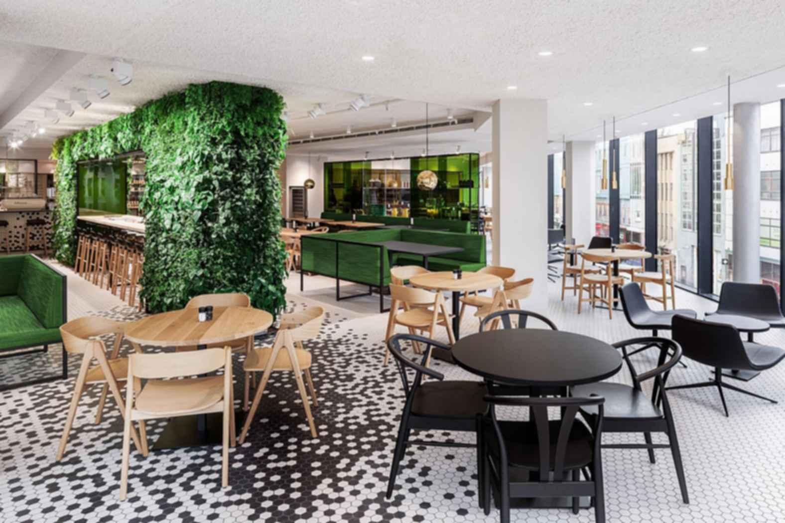 Bijenkorf Restaurant - Interior