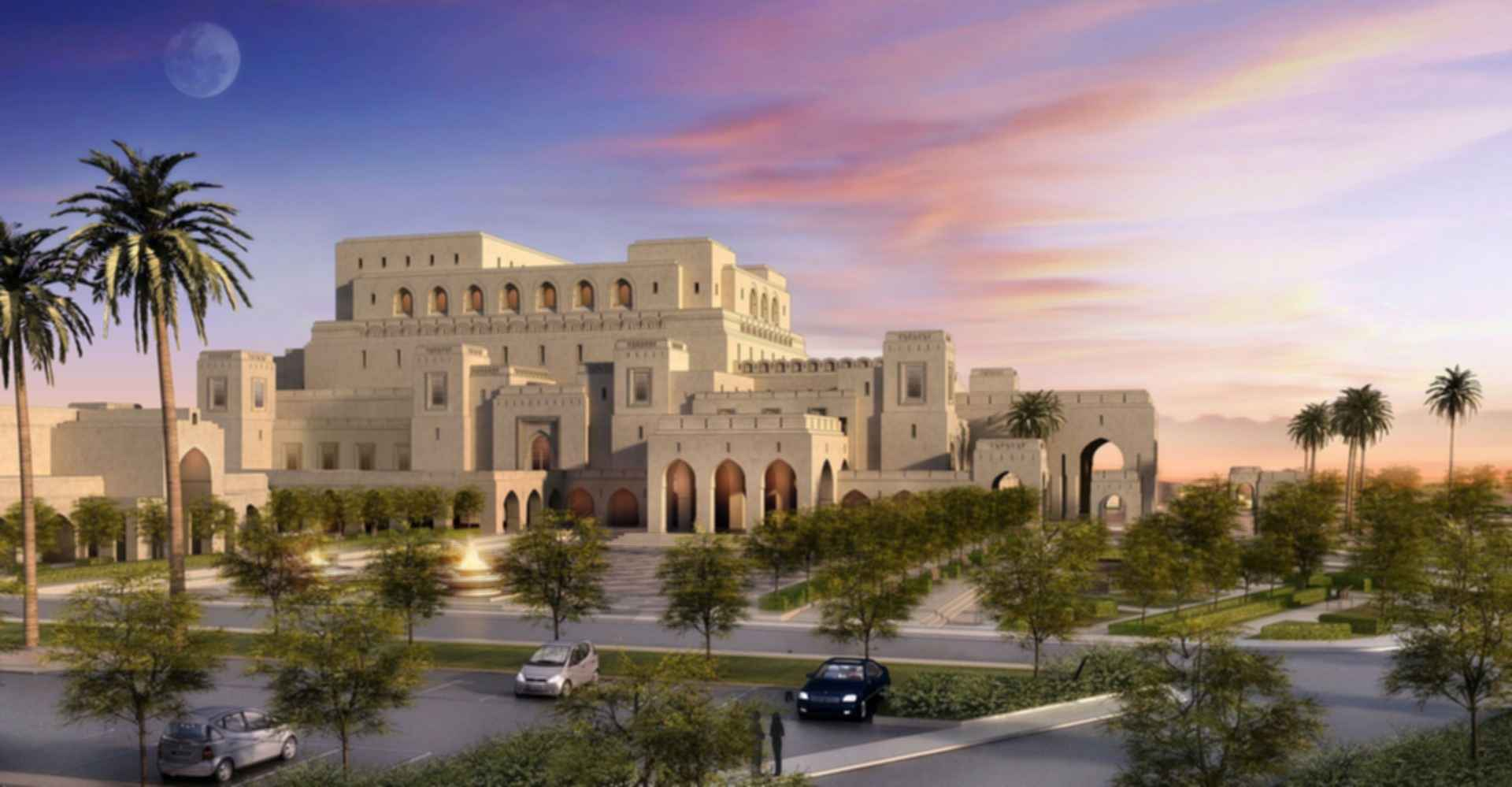 Royal Opera House Muscat - Concept Design