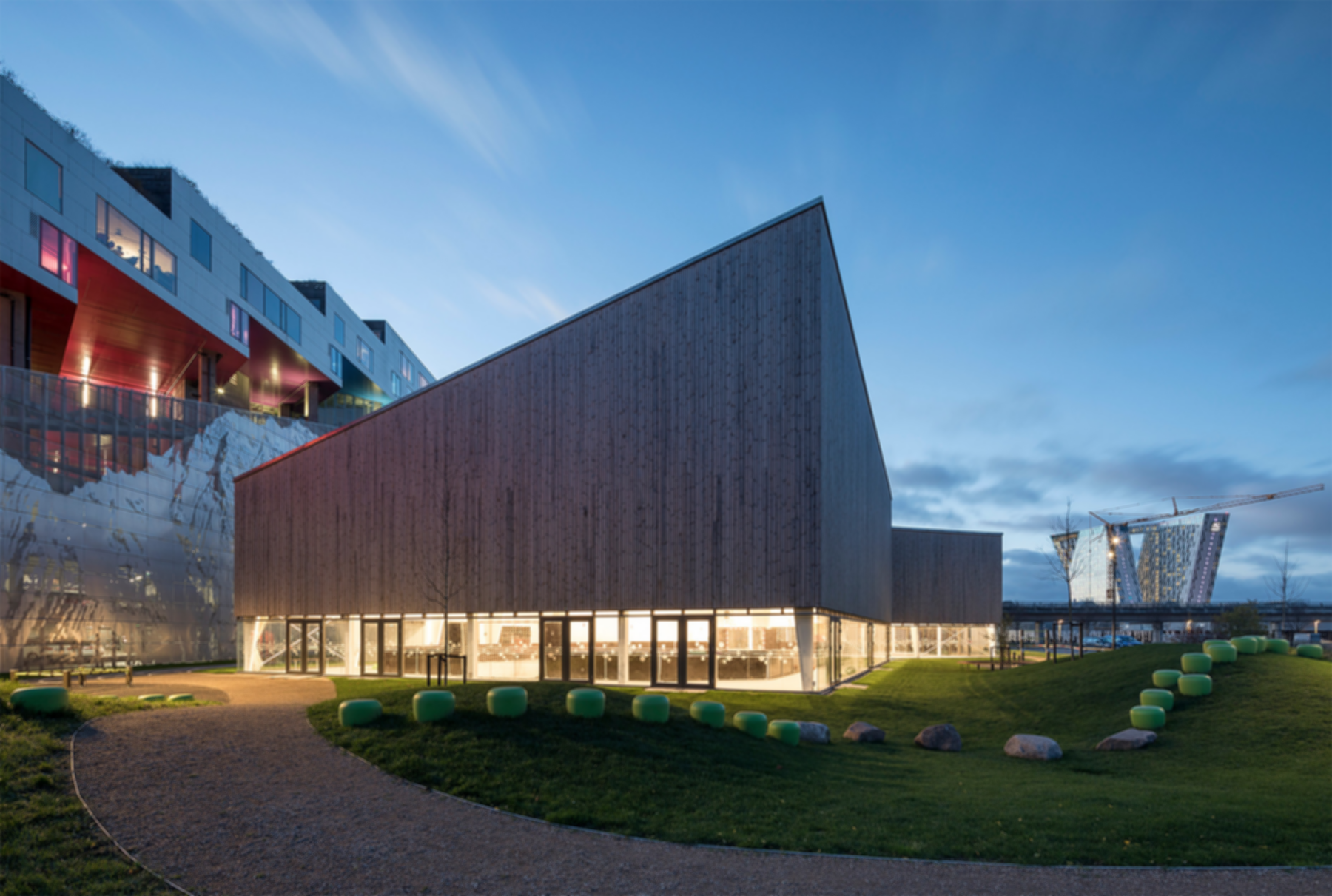 Ørestad Multi Sports Facility - Exterior