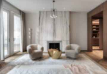 Upper East Side Townhouse Reconstruction - Living Room