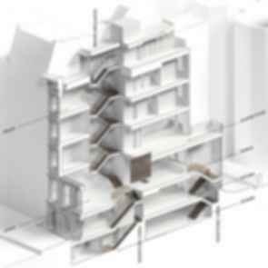 Upper East Side Townhouse Reconstruction - Drawing