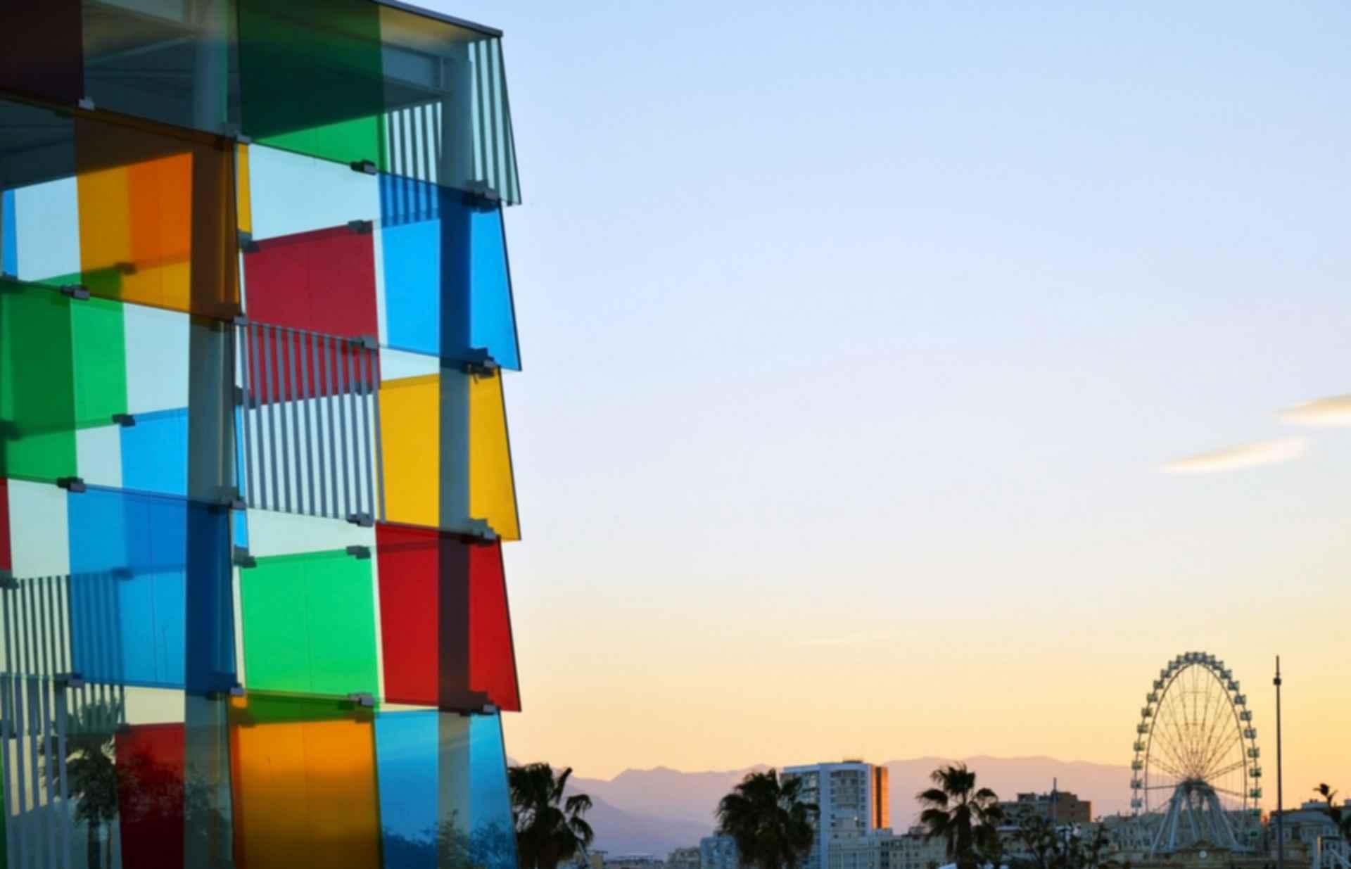 Centre Pompidou Malaga - Detail