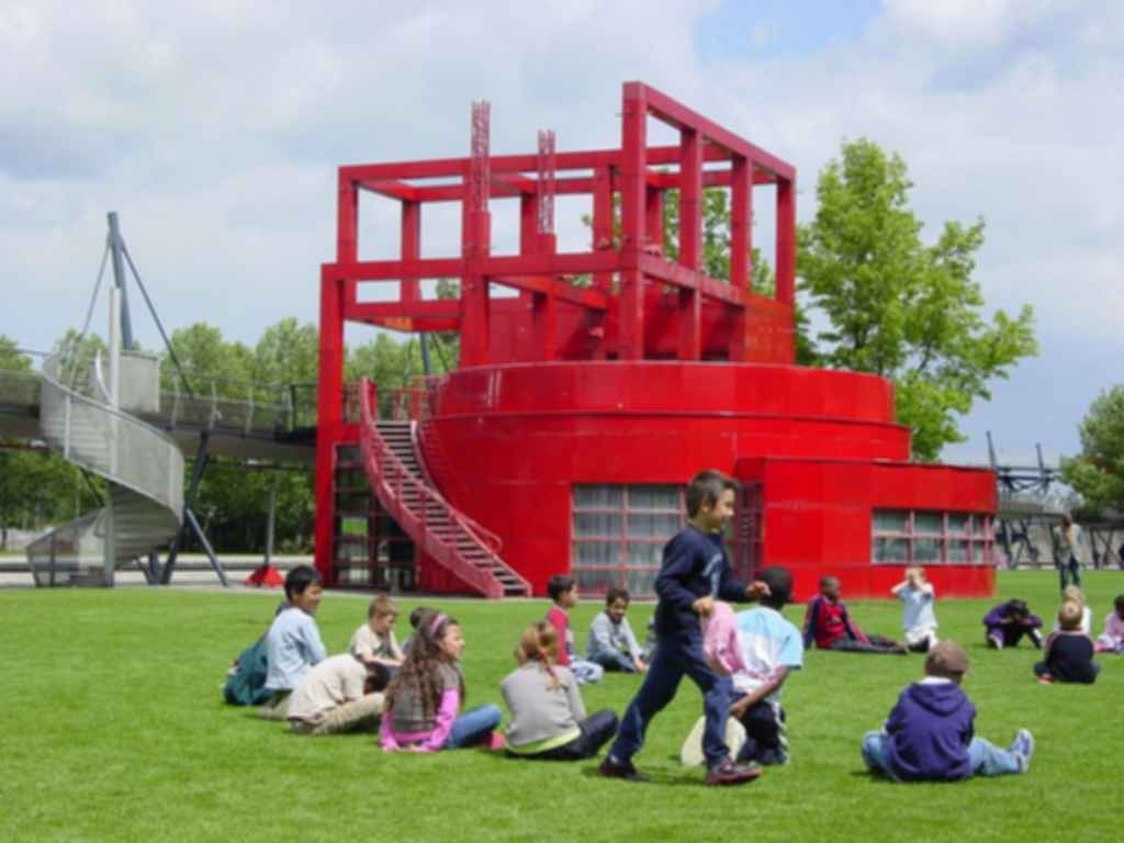 The Follies of Parc de La Villette - Exterior