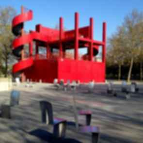 The Follies of Parc de La Villette - Exterior