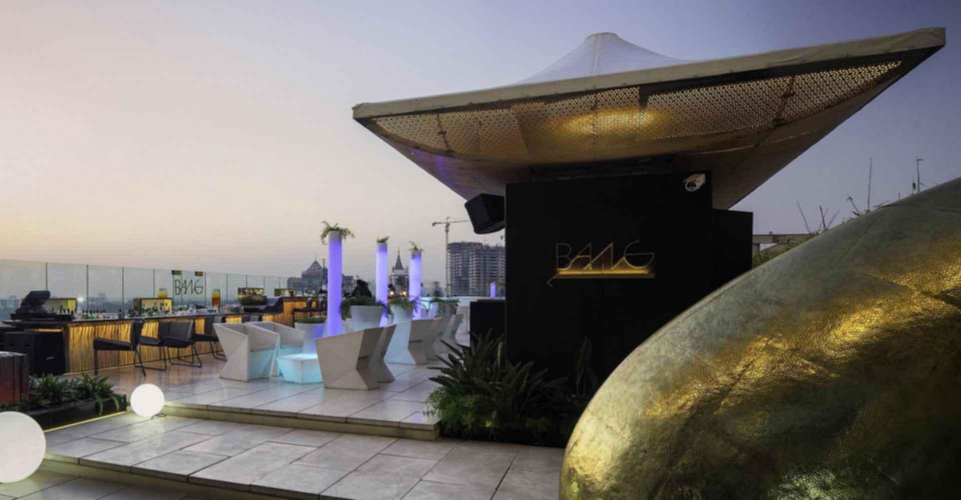 Ritz-Carlton Bangalore - Rooftop Terrace