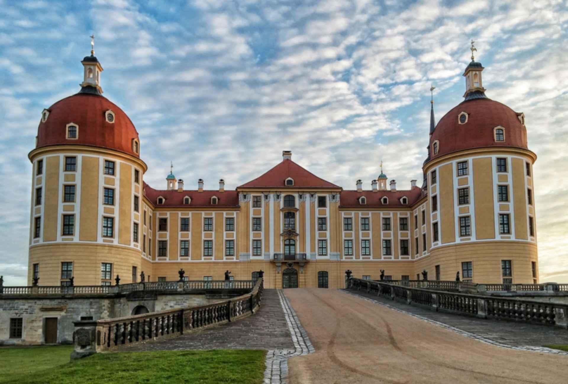Moritzburg Castle - Front Exterior