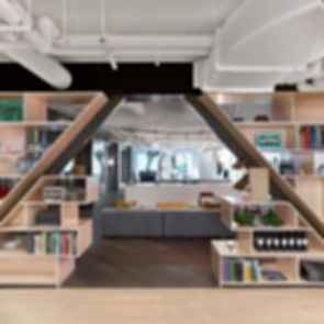 Rapt Studio San Francisco Offices - Bookcase
