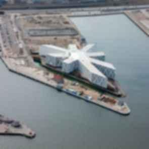 UN City - Aerial View