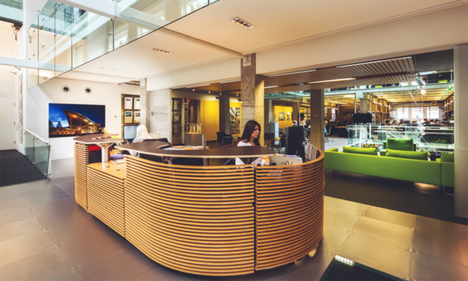 Perkins + Will Vancouver Office - Reception