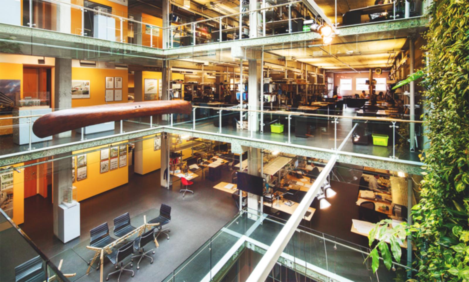 Perkins + Will Vancouver Office - Atrium