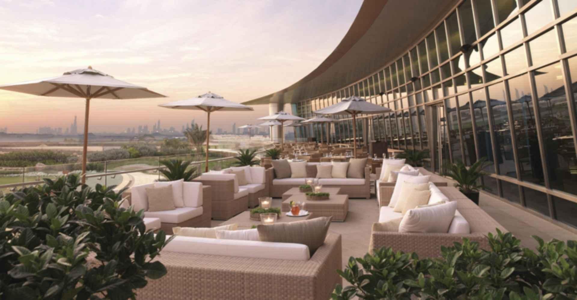 Al Badia Golf Club - Terrace